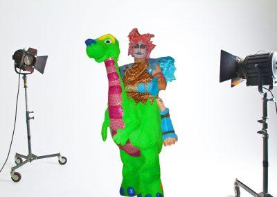 1995 Fantasía: Mamelosaurius erectus interruptus