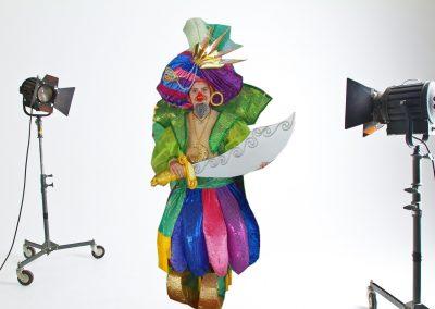 2011 Fantasía: Las mil y una noche, dando la Murga